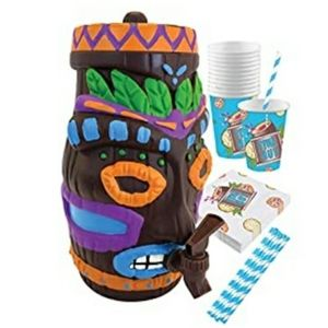 Plastic Tiki drink dispenser